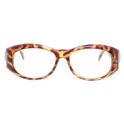 Gianni Versace Sonnenbrille in Hornoptik