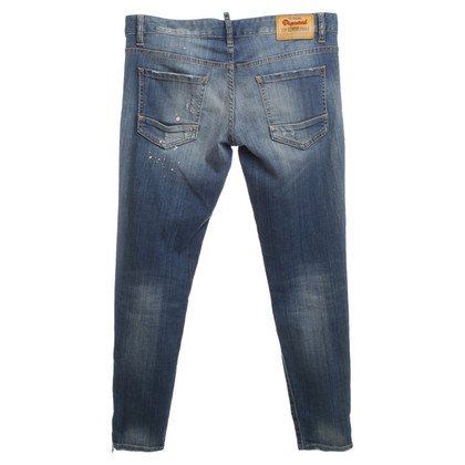 Dsquared2 Jeans en regard détruit