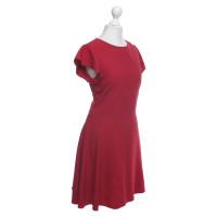 Red Valentino Kleid in Dunkelrot