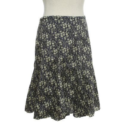 Cacharel skirt with a floral pattern