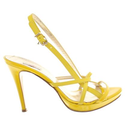 Versace Sandaletten in Gelb