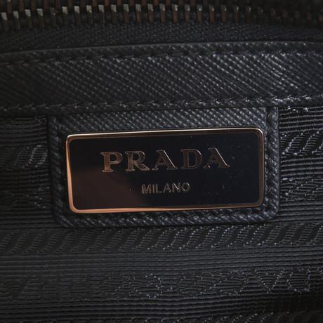 Spielraum Hohe Qualität Freies Verschiffen Niedrigsten Preis Prada Umhängetasche in Dunkelblau Blau Verkauf Komfortabel Günstig Kaufen Billig Cge9gWJYTa