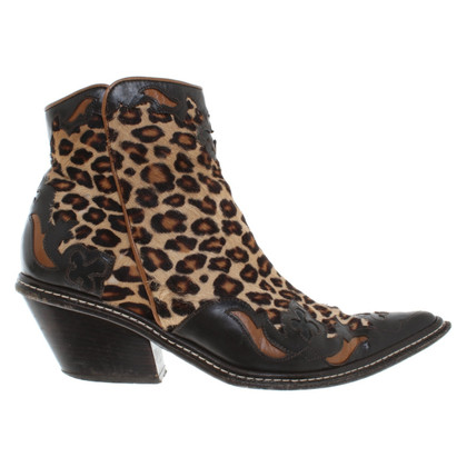 Russell & Bromley Ankle boots with animal design