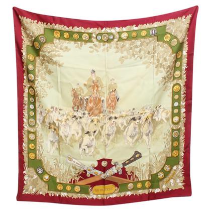 Hermès Silk cloth