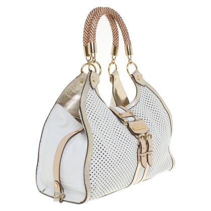 Versace Handtasche mit Lochmuster