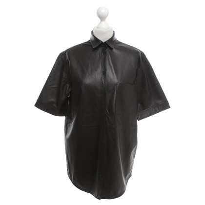 Iro Leather shirt blouse