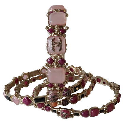 Chanel Four bracelets in the set
