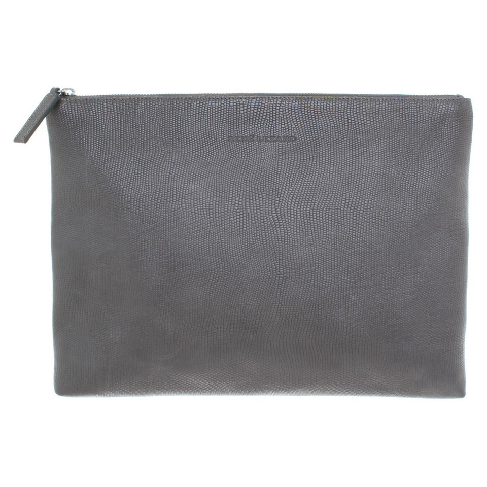 René Lezard clutch leather