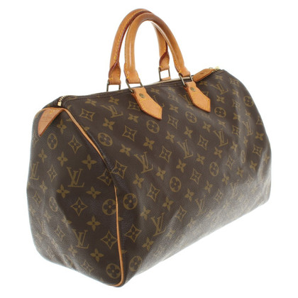"Louis Vuitton ""Speedy 35"" Monogram Canvas"