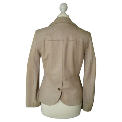 Armani Jeans Leather Blazer