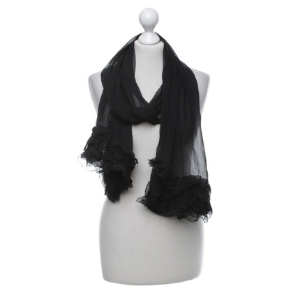 Chanel Scarf in black
