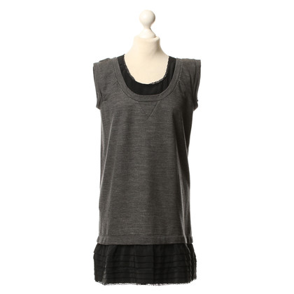 Miu Miu Vestito di grigio/nero