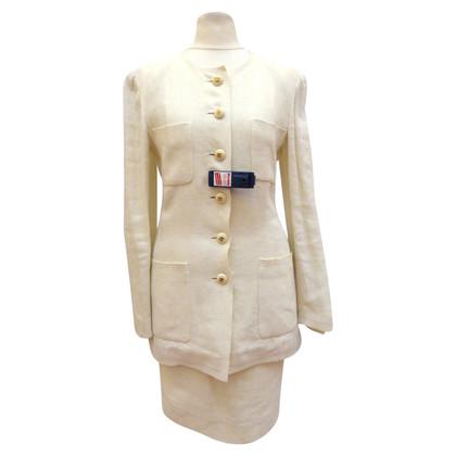 Chanel Kostüm mit langer Jacke