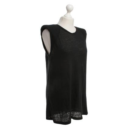 Iro Sportief overhemd zwart