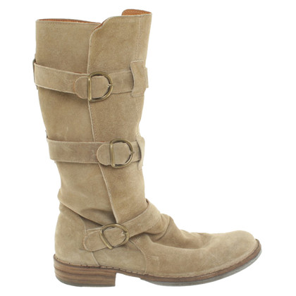 Fiorentini & Baker Suede boots in grey
