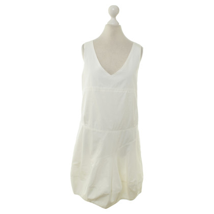 Chloé Pinafore dress in white