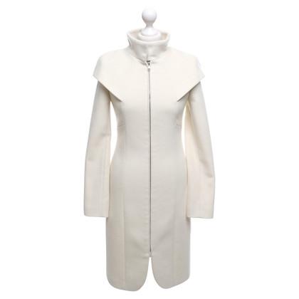 Dimitri Coat in crème