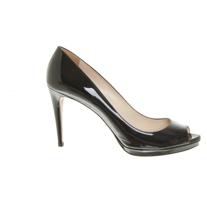 Prada Patent leather peep-toes