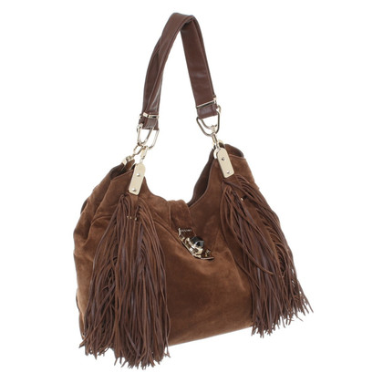Céline Suede bags with fringe