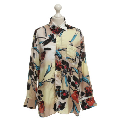 Marni Blouse with floral pattern