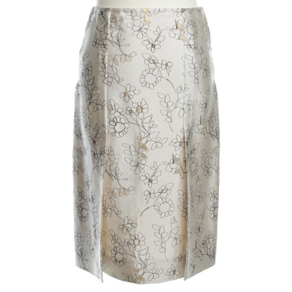 Marni skirt with floral decor