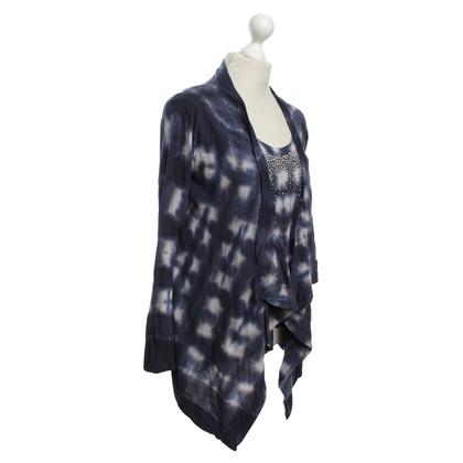 Velvet In combinazione con i modelli di batik