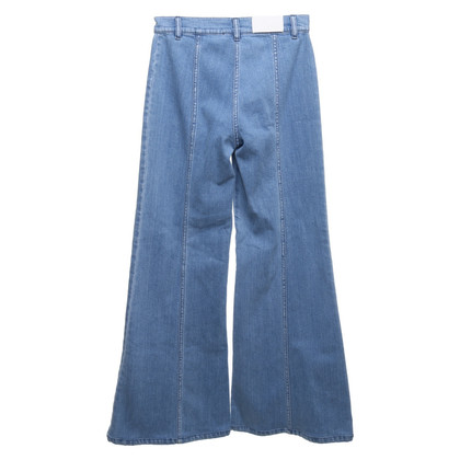 Chloé Flared-Jeans in Blau
