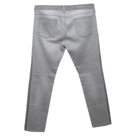 Isabel Marant Etoile Jeans in Grau Grau Wirklich Zum Verkauf Angebote Günstig Online 2Gta81629