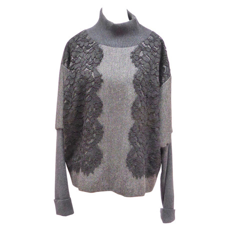 Dolce & Gabbana Shirt mit Materialmix Andere Farbe