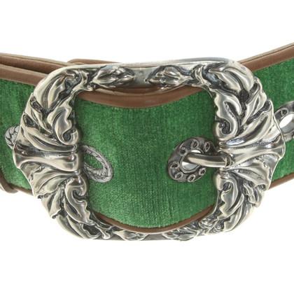 Bottega Veneta Cintura in vita fatto di velluto