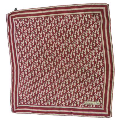 Christian Dior Silk scarf with logo pattern