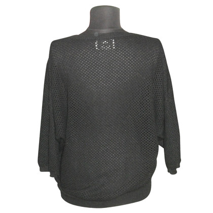 Allude Cashmere sweater with lace pattern