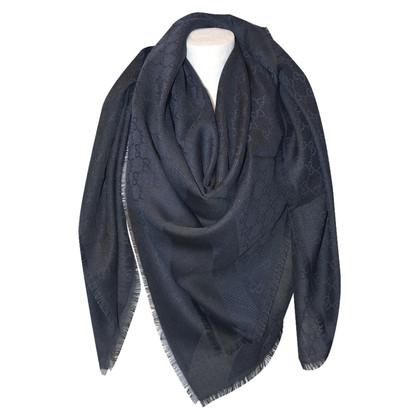 Gucci Guccissima cloth in blue / black