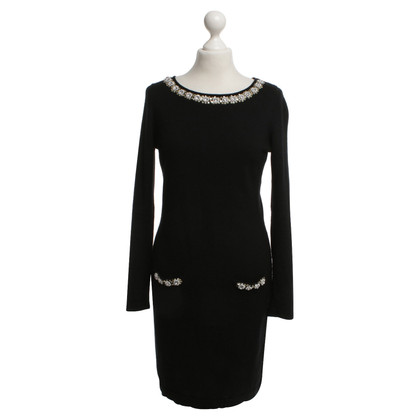Clements Ribeiro Black dress with jewelry