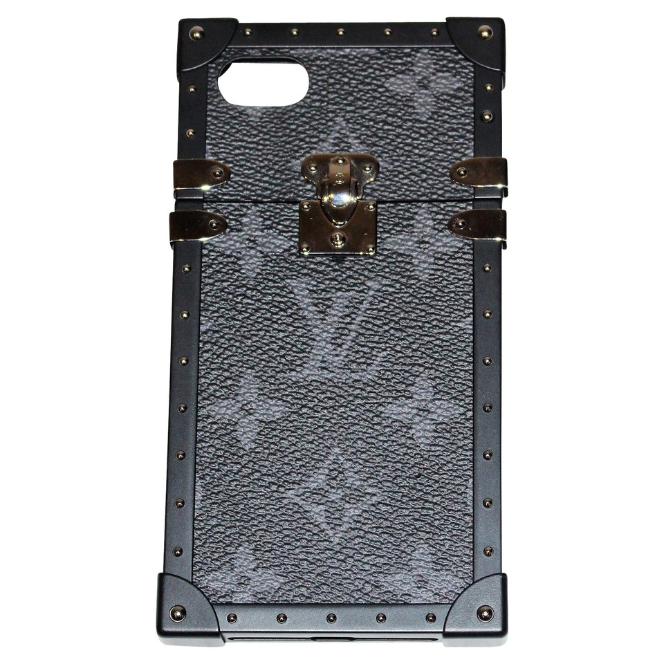 louis vuitton iphone 7 eye trunk buy second hand louis. Black Bedroom Furniture Sets. Home Design Ideas