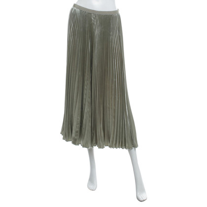 Valentino Pleated skirt in green