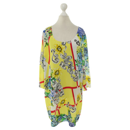 Versace Silk dress with colorful pattern