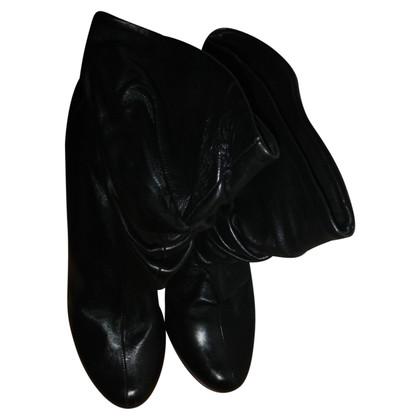 Gianmarco Lorenzi bottes de cuir