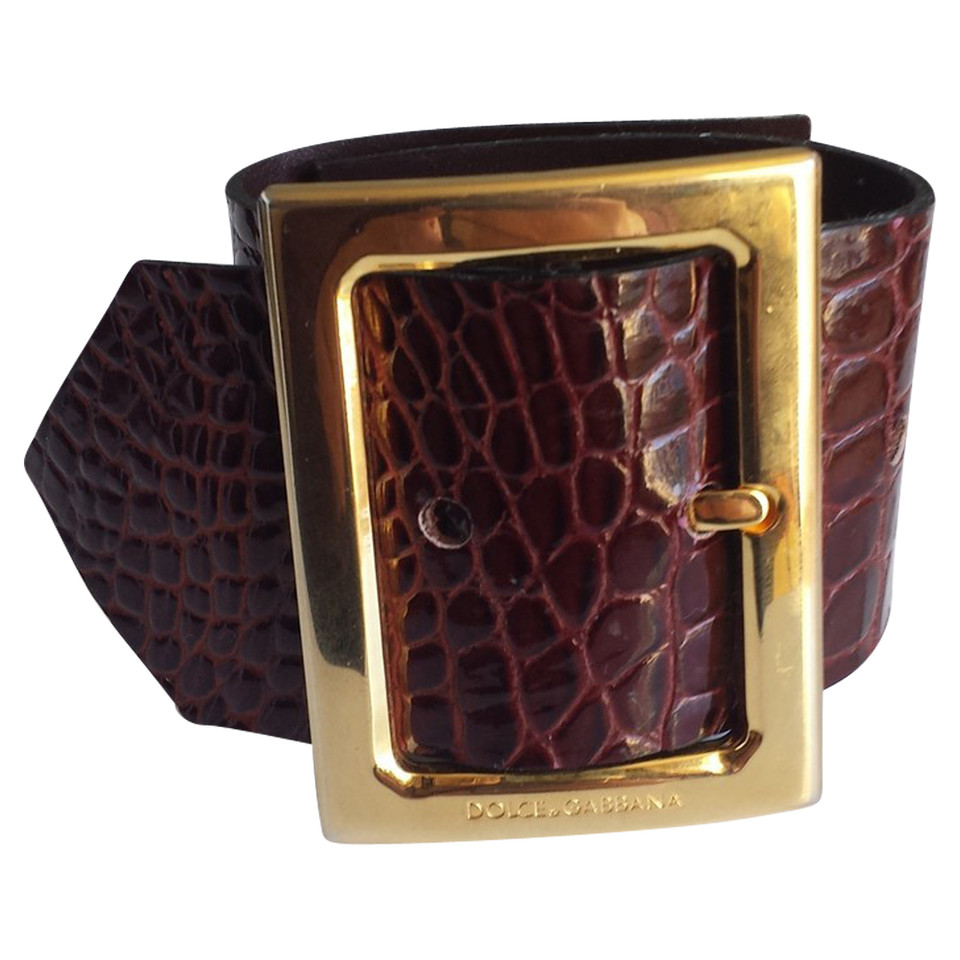 dolce gabbana armband in g rtel optik second hand dolce gabbana armband in g rtel optik. Black Bedroom Furniture Sets. Home Design Ideas