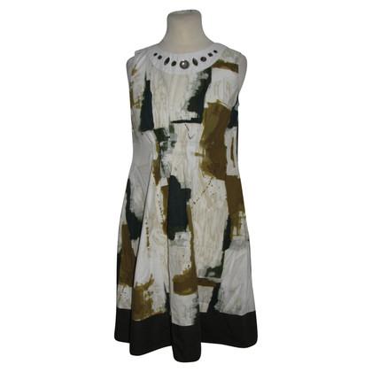 Vera Wang Patterned Dress
