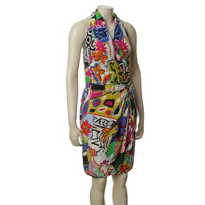 Escada Kleurrijke zomer rok met lichaam