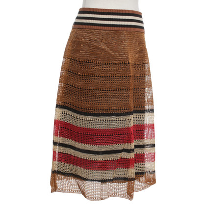 Red Valentino Uitgegeven rok in mini-lengte
