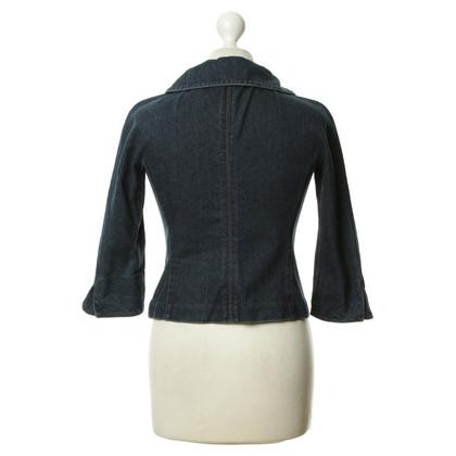 Diane von Furstenberg Giacca di jeans blu scuro