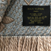 "Louis Vuitton ""Logomania Shine Scarf"" in beige"