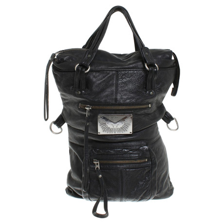 Zadig & Voltaire Tote Bag in Schwarz Schwarz Spielraum Shop-Angebot Auslass 100% Authentisch swF8F