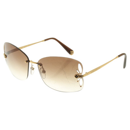 Louis Vuitton Sonnenbrille in Braun