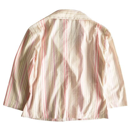 Burberry Gestreept wrap-shirt