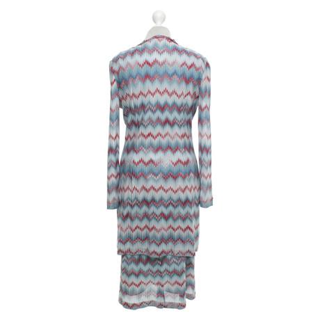 Missoni Kleid mit Kleid Bunt Missoni Muster Muster P7qOR
