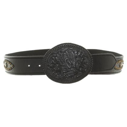 Ralph Lauren Black Label Cintura in Black