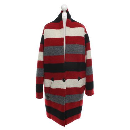 Isabel Marant Etoile Cappotto lavorato a maglia in look bouclé